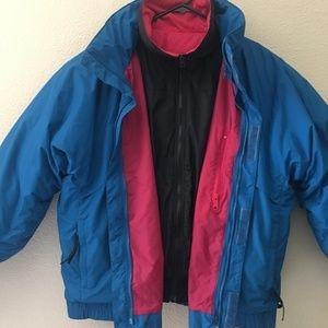 Vintage Columbia Whirlibird Ski Puffer Jacket
